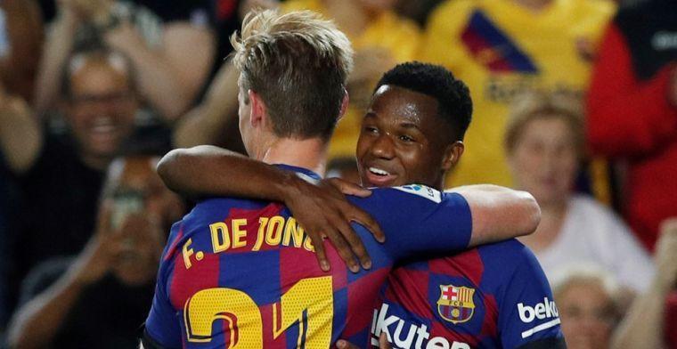 'Barça verlengt razendsnel contract van Fati: broer Messi ontvangt forse premie'