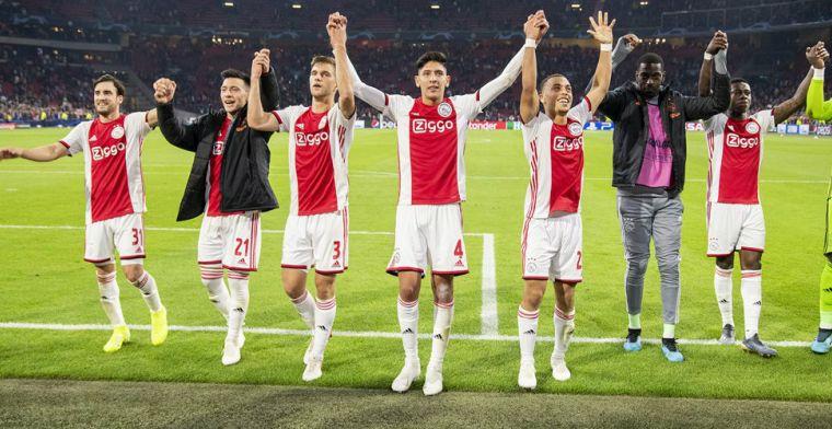 Nederland stijgt door overwinning Ajax twee plekken op UEFA-coëfficiëntenlijst