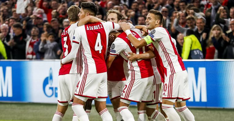 Franse pers onder de indruk van 'te getalenteerd' Ajax: 'Hij was verbluffend goed'
