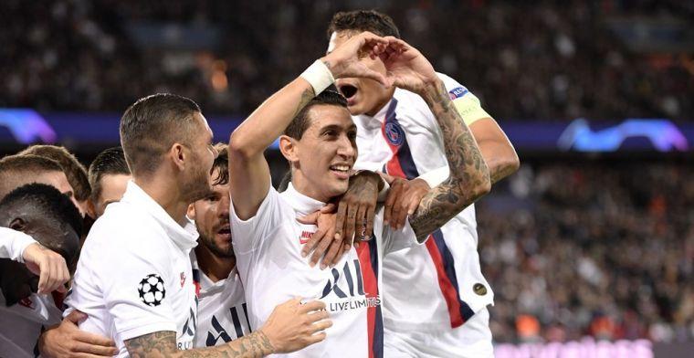 Real krijgt flink klop in Parijs: Di Maria dwingt ex-ploeggenoten op de knieën