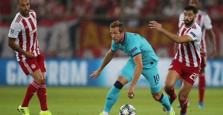 Olympiakos ontfutselt Spurs de overwinning; Galatasaray en Club Brugge scoren niet