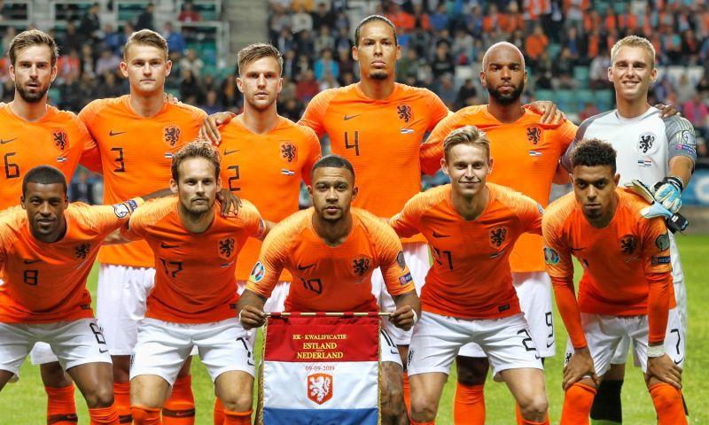 Afbeelding: Oranje stijgt drie plaatsen en klimt over Duitsland heen op FIFA-ranglijst