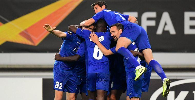 AA Gent begint aan Europa League met knappe overwinning tegen Saint Etienne