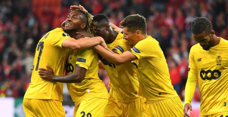 Eigen doelpunt van Vitória helpt Standard op weg naar Europese zege