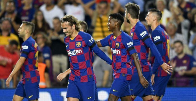 Weer winst voor trots FC Barcelona: Catalanen doorbreken magische grens