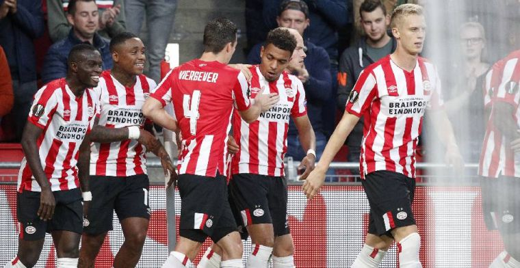 PSV overleeft benauwde slotfase en verslaat Sporting Portugal in Eindhoven