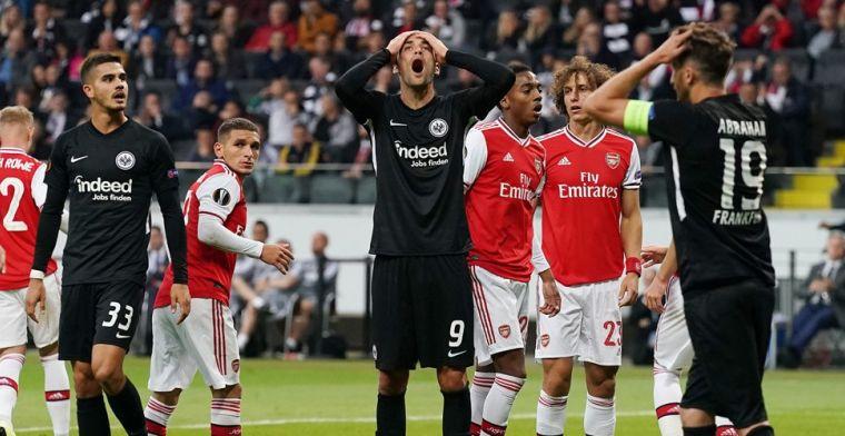 Europa League: Arsenal boekt makkelijk overwinning op het veld van Frankfurt