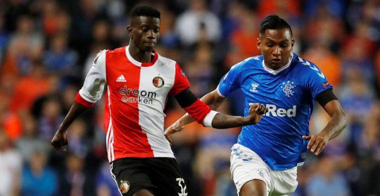 Feyenoord moet al in de achtervolging na nederlaag tegen Rangers FC
