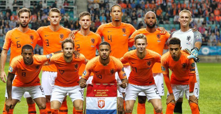Oranje stijgt drie plaatsen en klimt over Duitsland heen op FIFA-ranglijst