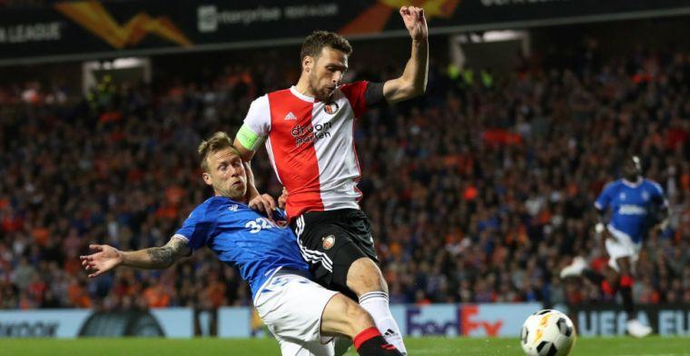LIVE: Feyenoord verliest op Ibrox, AZ pakt met man minder punt (gesloten)