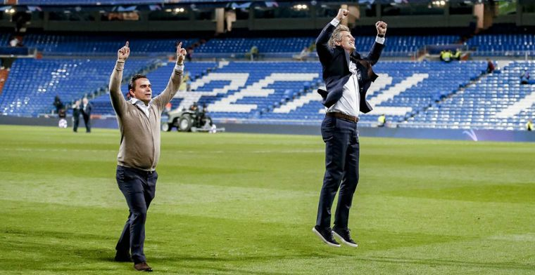 Juichende Van der Sar 'kreeg beuk van Real Madrid-president': 'Moest ik sussen'