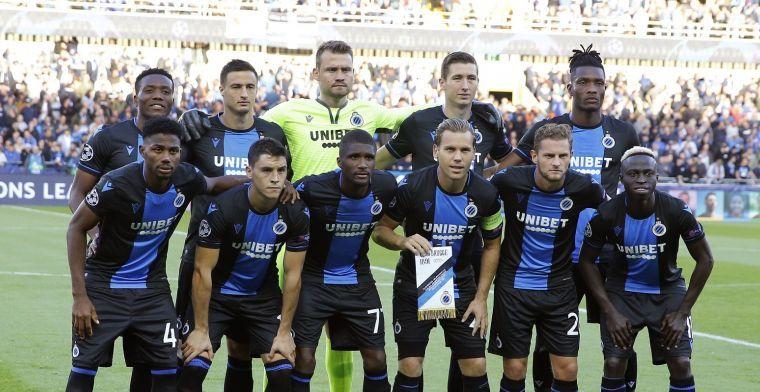 Club Brugge haalt sterk record binnen in de Champions League
