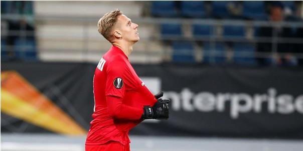 Gent-doelman Kaminski na enorme blunder: Dan wil je onder de grond kruipen