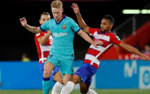 Afbeelding: De Jong kan stempel weer niet drukken; Barcelona lijdt beschamende nederlaag