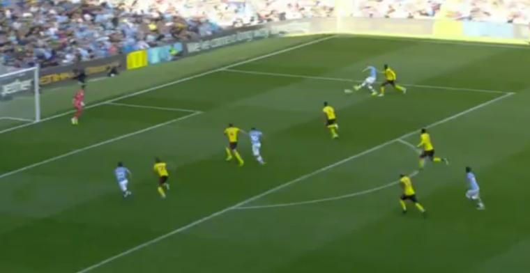 GOAL: De Bruyne pakt uit met nieuwe assist, Bernardo maakt een hattrick