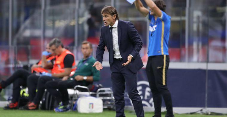 Conte fel voorafgaand aan Milanese derby: 'Ze denken misschien dat racisme oké is'