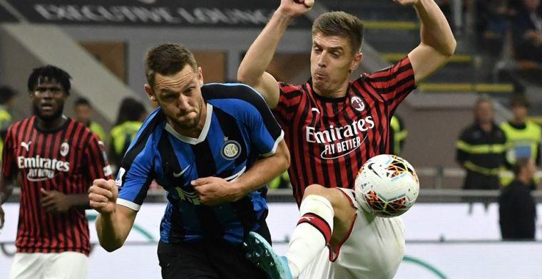 Inter wint tegen AC Milan, Lukaku beslist de Derby della Madonnina