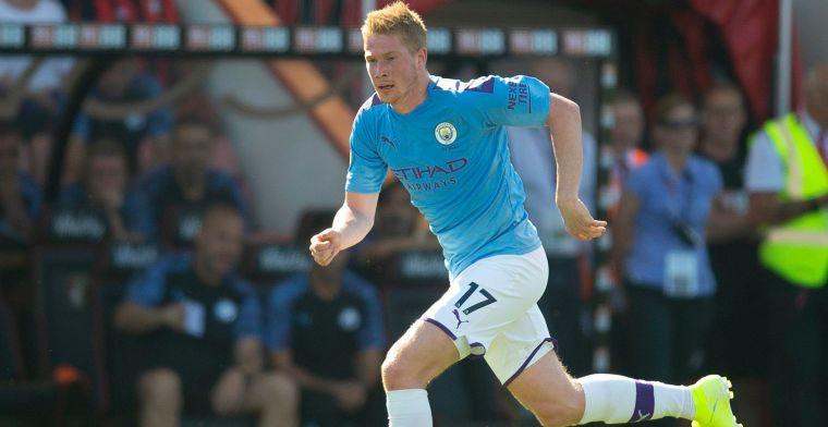 Manchester City staat na 18 minuten 5-0 (!) voor, De Bruyne is orkestmeester