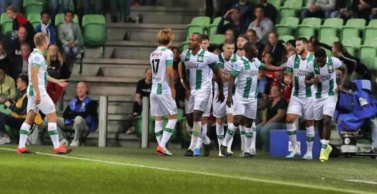 Reza-magie blijft ditmaal uit: lucht voor FC Groningen met PSV én Ajax in zicht