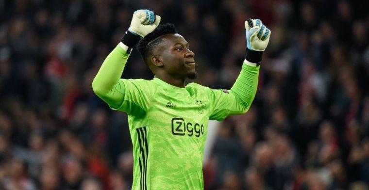 Onana: 'Ook belangrijk om te laten zien dat we de beste club van Nederland zijn'
