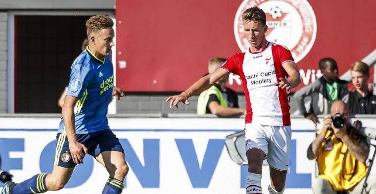 Feyenoord stelt wederom teleur: 'Er vallen harde woorden in de kleedkamer'