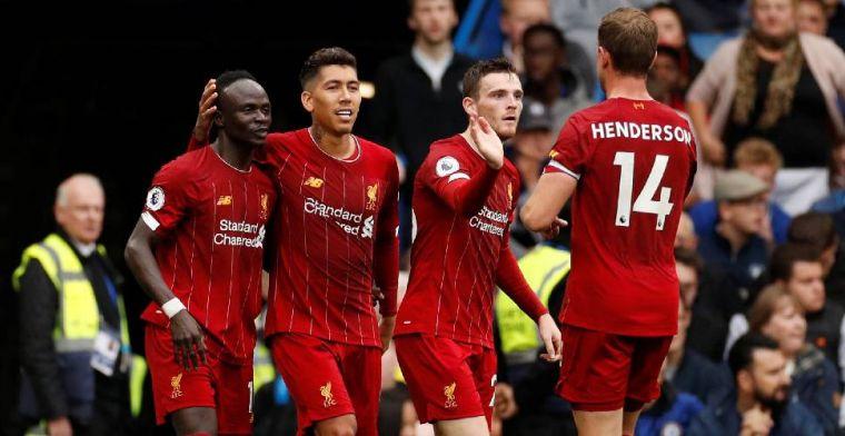 Liverpool wint topper op Stamford Bridge, Arsenal komt met de schrik vrij