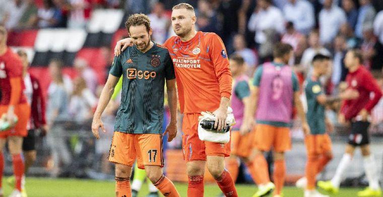 Blind lacht om briefje van Van Bommel: 'Was dat nou die omzetting?'