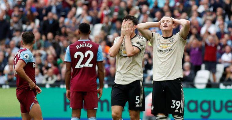 West Ham United deelt harde tik uit en wint van zwak Manchester United