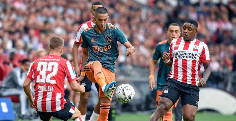 LIVE: PSV en Ajax delen de punten in tegenvallende topper (gesloten)