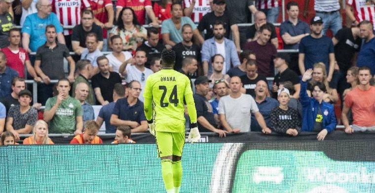 Onana: 'Ik hoop dat PSV in Amsterdam net zo speelt als vandaag'