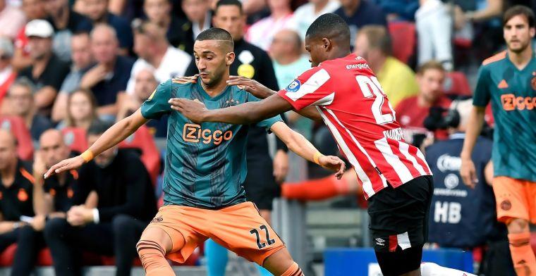 Titanenstrijd tussen PSV en Ajax blijft onbeslist door 'Oranje-goals' na rust