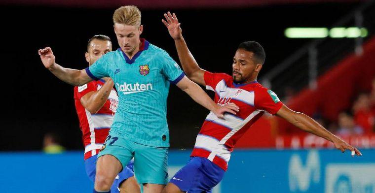 De Jong geeft wél goede voorbeeld bij FC Barcelona:De schuld ligt bij ons