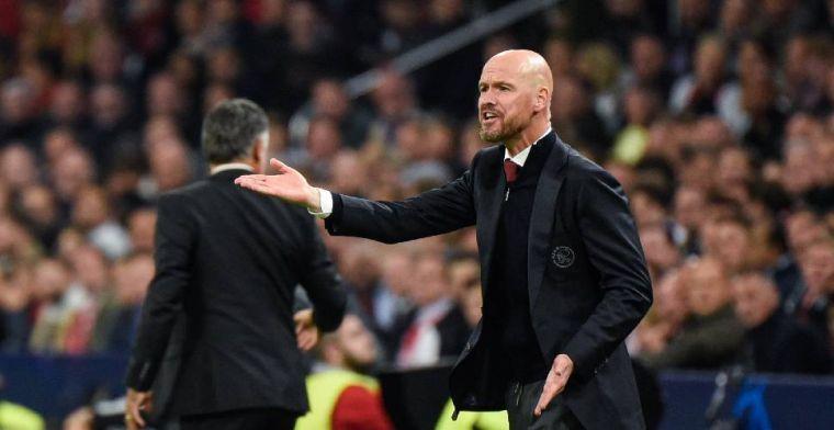 Ten Hag noemt verschillen: 'PSV gemoedelijker, wereld hier is wat harder'