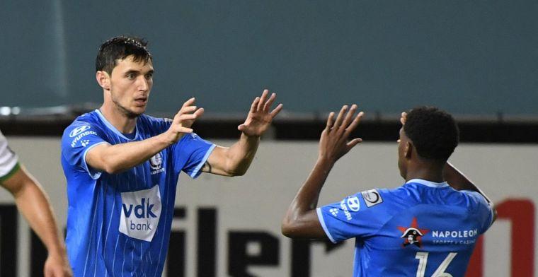 Yaremchuk kan met twee goals nog puntje winnen voor KAA Gent