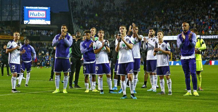 'Vijf gebuisden in elftal van Anderlecht, ook coach krijgt een onvoldoende'