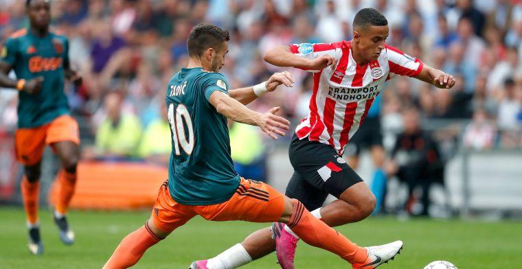 Spelersrapport: één 8 en één 4 na tegenvallende topper tussen PSV en Ajax