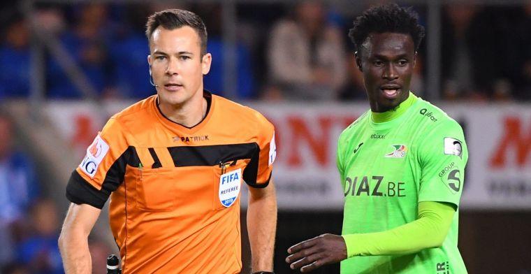 Belgische voetbalbond bedankt Sylla na duel tegen Genk: 'Jij bent een voorbeeld'