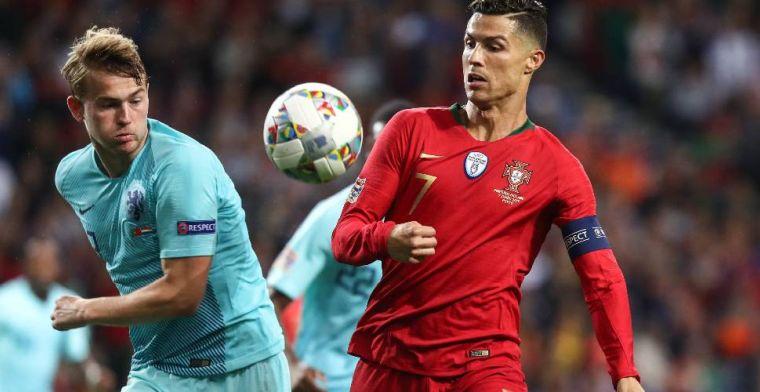 Ronaldo vindt De Ligt de beste ter wereld en zet De Jong op twee