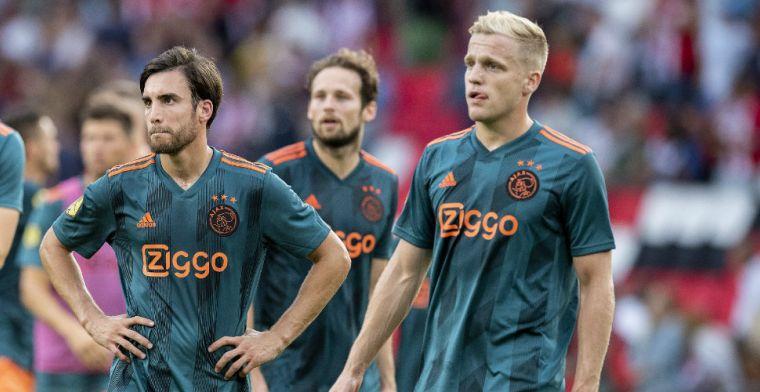 'Slechtste Ajax aller tijden in de Champions League hoor ik al. Onzin, ophouden'
