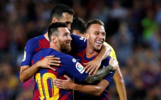 Afbeelding: Barça boekt met invaller De Jong krappe zege, maar ziet Messi uitvallen