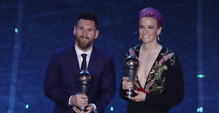 Van Dijk loopt FIFA-prijs mis: 'Ging vroeger niet naar stadion voor verdediger'