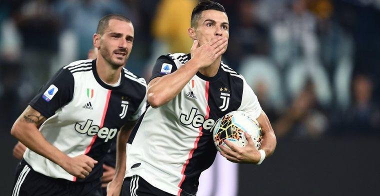 Ronaldo over stapavond met pruik en snor: 'Iedereen keek: who the f*ck is that?'