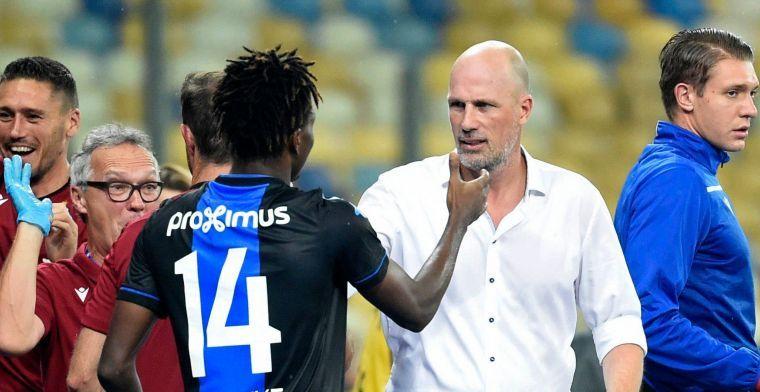 'Clement gaat jongelingen en invallers Club Brugge de kans geven in de beker'