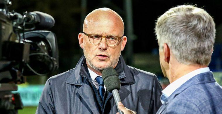 Van Schaik en speurend NEC nemen gas terug: 'Daar moeten we nu aan werken'