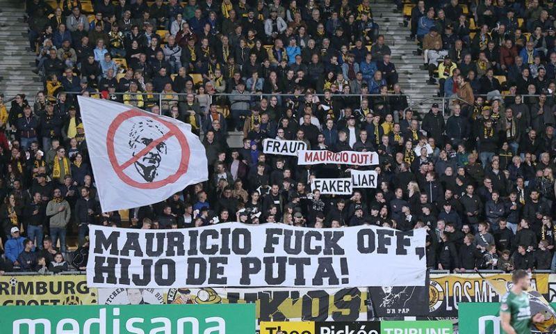 Afbeelding: Ongeziene beelden: fans Roda jagen investeerder letterlijk het stadion uit