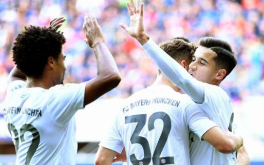 Afbeelding: Coutinho leidt Bayern naar koppositie na blamage Leipzig