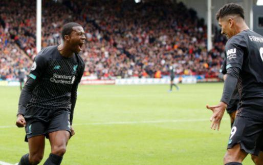 Afbeelding: Wijnaldum schiet tegenvallend Liverpool naar winst na blunder Sheffield-keeper