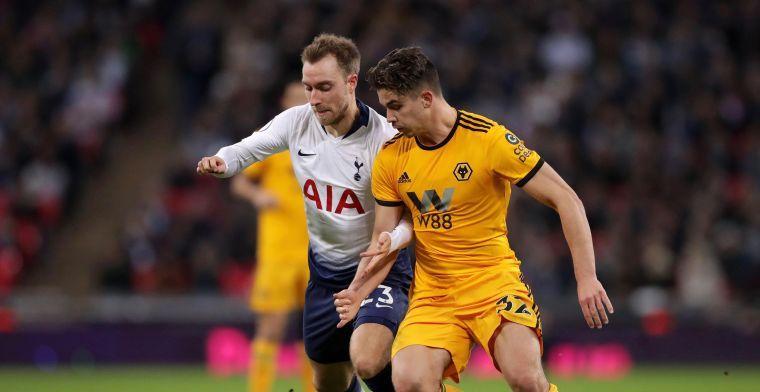 Tottenham wint met een man minder, Dendoncker pakt met Wolves de drie punten