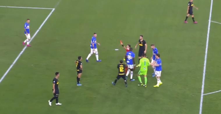 Opmerkelijke hoofdrol Alexis Sánchez bij Inter: treffer en rode kaart na schwalbe