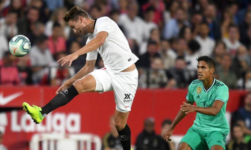 Afbeelding: De Jong en Sevilla boeken spectaculaire zege op Sociedad; Strootman speelt gelijk